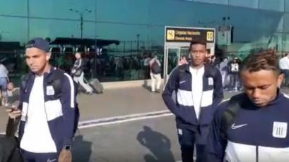 Alianza Lima retornó tras la derrota ante Ayacucho FC y se confirmó que hoy entrenarán (VIDEO)