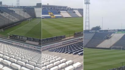 Alianza vs Mannucci: el césped del estadio Alejandro Villanueva luce impecable a horas del partido (VIDEO)
