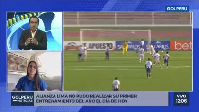 Alianza Lima: los motivos que impidieron el primer entrenamiento presencial con Carlos Bustos (VIDEO)