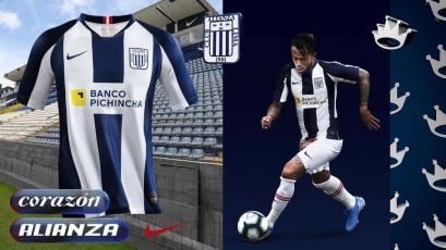 Liga1 Movistar: Alianza Lima presentó oficialmente su nueva camiseta para el 2020
