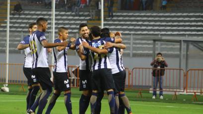 Alianza Lima derrotó a Sporting Cristal por primera vez en el año