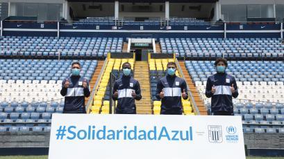 Alianza Lima promueve una campaña de solidaridad con los refugiados