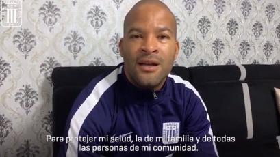 Liga1 Movistar: el mensaje de los jugadores de Alianza Lima para prevenir el coronavirus (VIDEO)