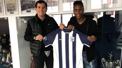 Alianza Lima se refuerza con Roberto Villamarín