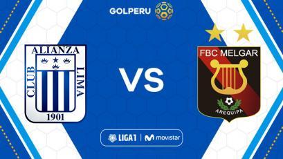 Alianza Lima vs Melgar: hora, estadio y posibles alineaciones por Liga1 Movistar