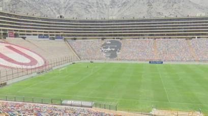 Universitario vs Alianza Lima: así está quedando el estadio Monumental para el clásico (VIDEO)