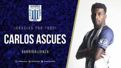 Alianza Lima: club se despidió de Carlos Ascues