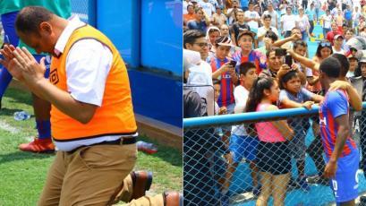 Torneo Apertura: la emotiva celebración de Alianza Universidad tras llegar a la punta (FOTOS)