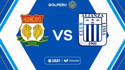 Sport Huancayo y Alianza Lima abren la penúltima fecha de la Liga1 Movistar