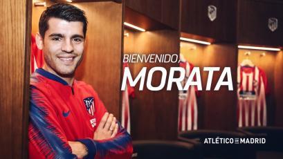 Álvaro Morata es el nuevo jugador del Atlético de Madrid