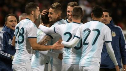 Argentina vuelve a la victoria derrotando a Marruecos