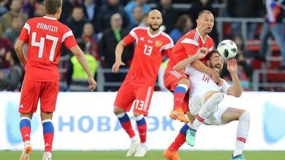 Rusia 2018: Rusia empató y está listo para el juego inaugural