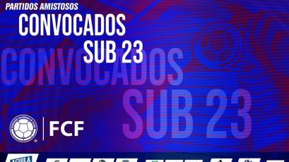Colombia Sub-23 presentó su convocatoria para los amistosos con Perú