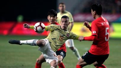 Corea del Sur y Son batieron a Colombia en Seúl