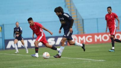 Sporting Cristal y la San Martín sostuvieron dos amistosos en el Gallardo