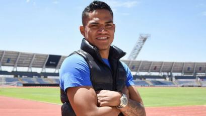 Anderson Santamaría arribó al Puebla