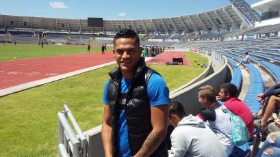 Anderson Santamaría se incorporo la pretemporada del Puebla