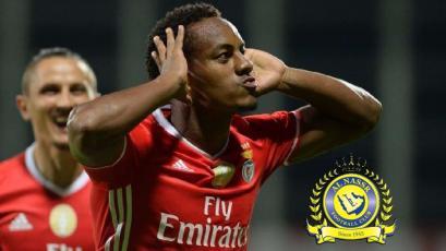 Al Nassr le pagaría 15 millones de euros al Benfica para quedarse con André Carrillo
