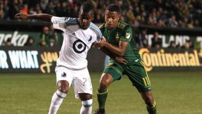 Andy Polo fue titular en empate del Portland Timbers en la MLS