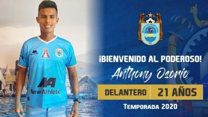 Liga1 Movistar 2020: Anthony Osorio se convirtió en nuevo jugador del campeón Binacional (VIDEO)