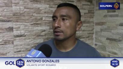 """Antonio Gonzales: """"Estoy contento y agradecido con esta institución"""""""