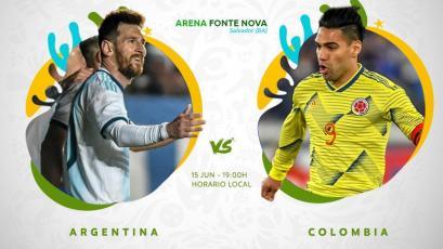 Copa América Brasil 2019: Argentina y Colombia se enfrentan por el Grupo B
