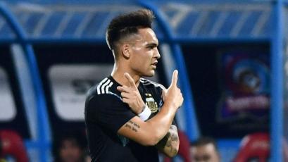 Argentina goleó a Irak y espera al clásico con Brasil