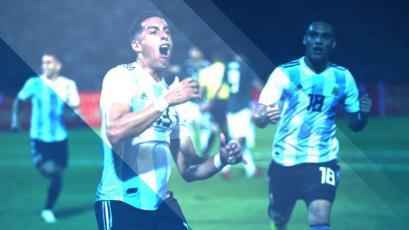 Argentina superó a México y sumó su tercer triunfo en la 'Era Scaloni'