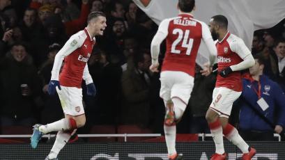 Arsenal eliminó al Chelsea y jugará la final de la Carabao Cup