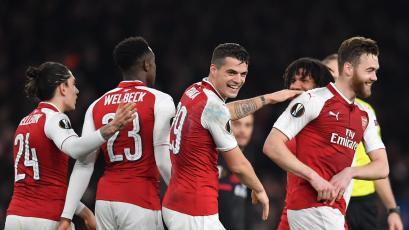Europa League: Arsenal elimina al Milan y avanza a los cuartos de final