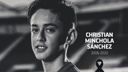 Juvenil del Atlético de Madrid de padre peruano falleció a los 14 años