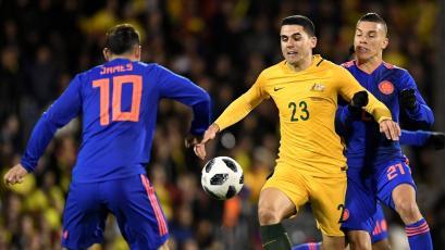 Australia no pasó del empate sin goles con Colombia