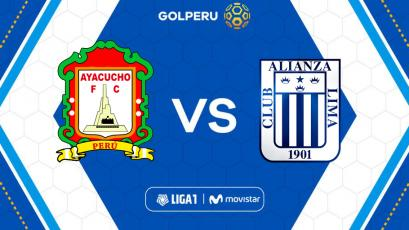 Ayacucho F.C enfrenta a Alianza Lima en el estadio Ciudad de Cumaná