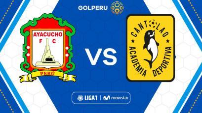 Ayacucho F.C y Academia Cantolao se miden en el estadio Ciudad de Cumaná