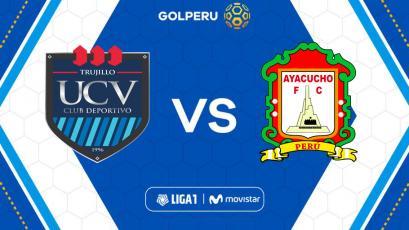 Universidad César Vallejo y Ayacucho F.C se enfrentan en el estadio Mansiche