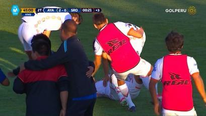 Ayacucho F.C respetó la casa y derrotó a Sport Rosario