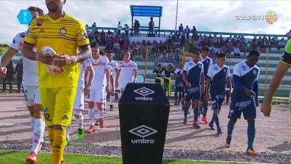 Ayacucho F.C  logró empatar 1 - 1 con la  Universidad San Martín