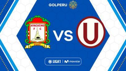Ayacucho F.C y Universitario se miden en el estadio Ciudad de Cumaná