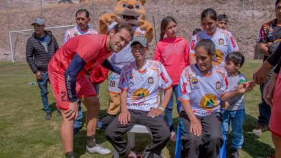 Liga1 Movistar: Ayacucho FC cumplió el sueño de un joven hincha que no está bien de salud
