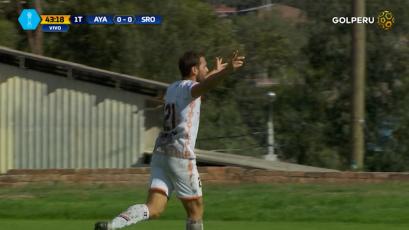 Ayacucho F.C derrotó 2-0 a Sport Rosario y logró su primer triunfo en el Torneo de Verano