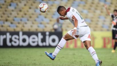 "Fernando Pacheco: ""Estoy muy contento por mi primer gol con Fluminense"""