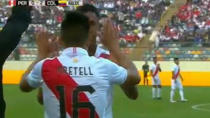 Selección Peruana: Jesús Pretell hizo su presentación oficial con la selección mayor