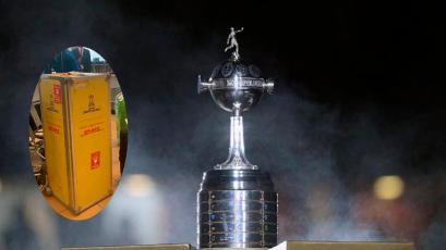Trofeo de la Copa Libertadores llegó a Lima