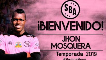 Jhon Mosquera es nuevo refuerzo de Sport Boys