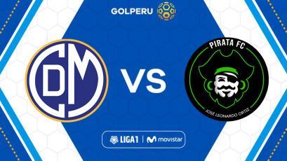 Liga1 Movistar: Deportivo Municipal recibe a Pirata FC en Huacho