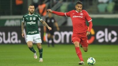 Con Paolo Guerrero, Internacional buscará su pase a las semifinales de la Copa Brasil