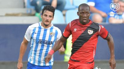 Con Luis Advíncula, Rayo Vallecano igualó de visita ante el Málaga por La Liga2