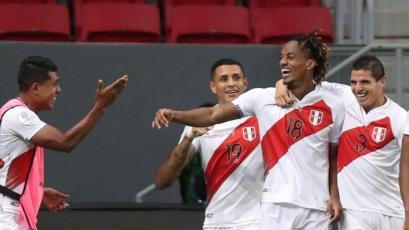 Perú vs. Venezuela: André Carrillo marcó el 1-0 con este potente remate (VIDEO)