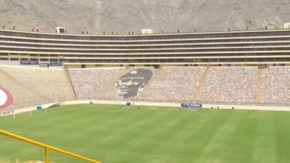 Universitario: así luce la cancha del Monumental de cara a la 'Noche Crema' ante Cerro Largo (VIDEO)