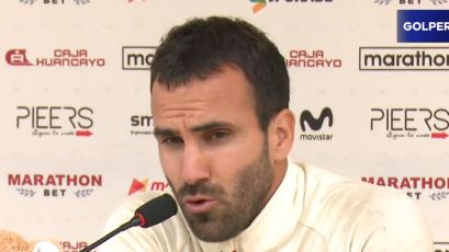 """José Carvallo: """"Tenemos que mejorar y elevar nuestro nivel de concentración"""""""